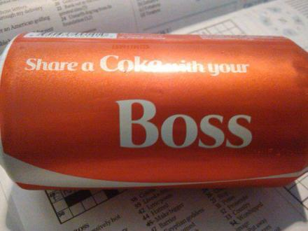 boss coke can