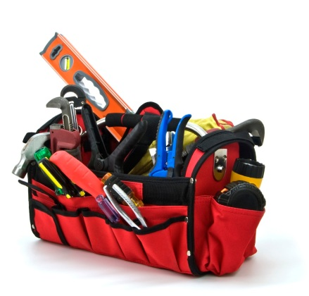 Toolbox, Hardhat, construction, safety, equipment, worker, tools, home improvment, Isolated